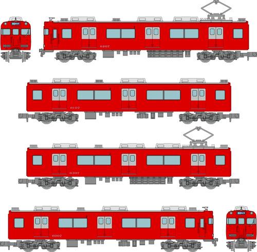 Nagoya Railway Series 6000