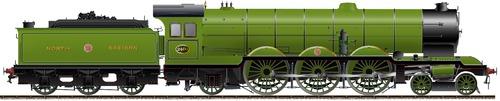 NBR 4-6-2 No 2400 Pacific