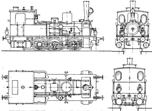 Nebanbahn Tenderlok (1881)