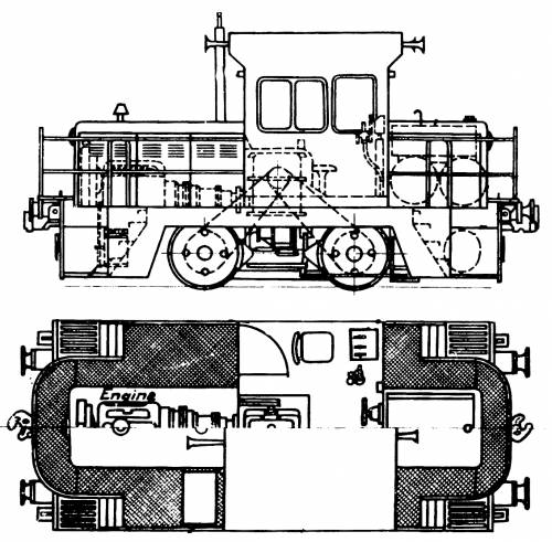 NSW Department Of Railways X100 Class Diesel Rail Tractor