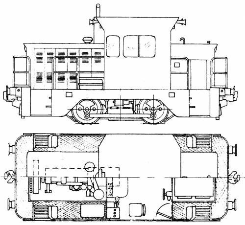 NSW Department Of Railways X200 Class Diesel Rail Tractor