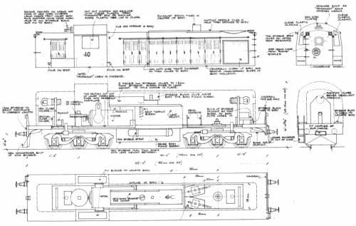 NSWPTC40 Class Diesel Elec