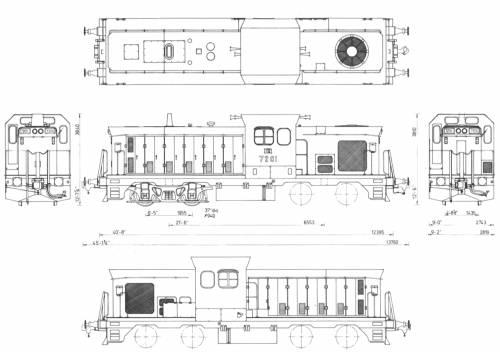 NSWPTC72 Class Diesel Hydraulics