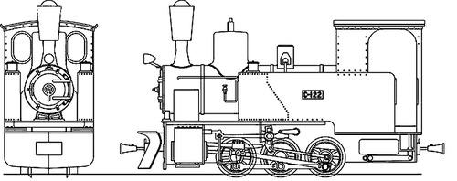 Numajiri Railway Type C122
