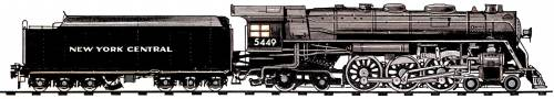NYC L3a Class 4-6-4 (1937)