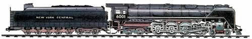 NYC Niagara Class 4-8-4 (1945)