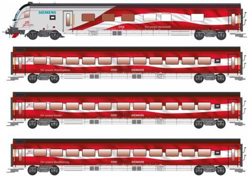 OBB Railjet Siemens