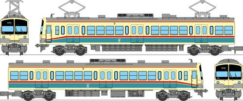 Ohmi Railway Type 900