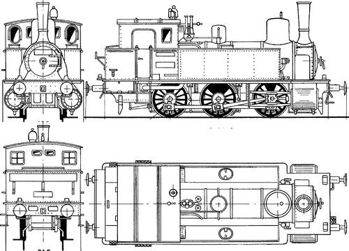 Prussian T7 BR 89 7801