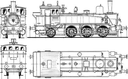 Prussian T9 BR 90 001