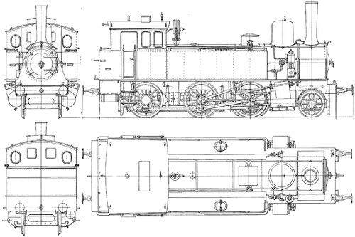 Prussian T9 BR 91 001