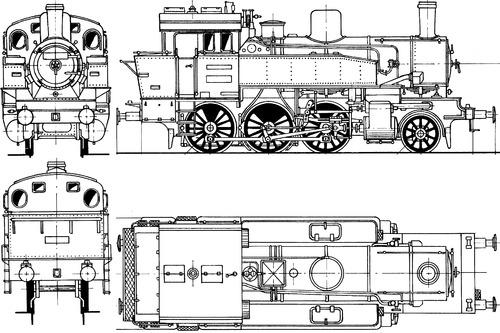 Prussian T9 BR 91 303