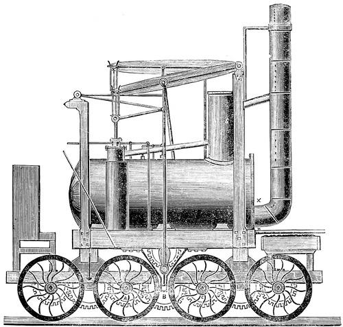 Puffing Willie Locomotive (1815)