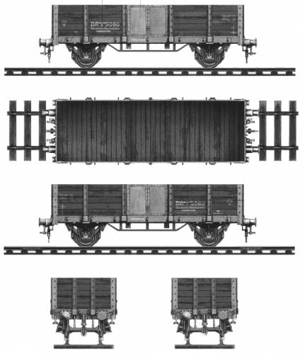 Railway Gondola - German