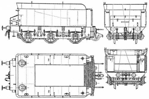 Russian OV Class Steam Locomotive 3