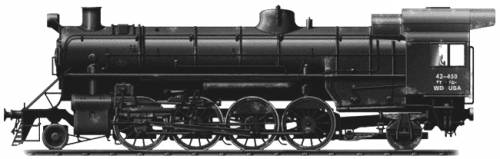 S-200 Mikado, 2-8-2, Steam Locomotive