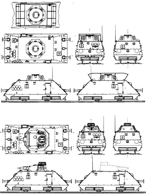 S.Sp.Pz.Draisine kanonenwagen