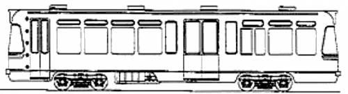 Sapporo Shiden Type D1040 Tram