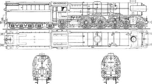 Schwartzkopff DRG BR 012 066-7 -75 (1939)