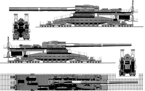 Schwerer Gustav 80cm Kanone E