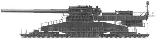 Schwerer Gustav 914mm Rail Gun