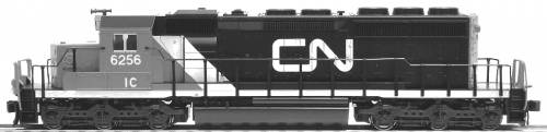 SD40-2 Mid Canadian National