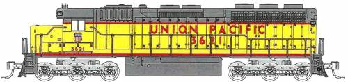 SD45 Union Pacific