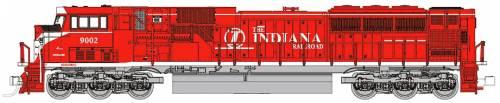 SD90-43 MAC Indiana Railroad