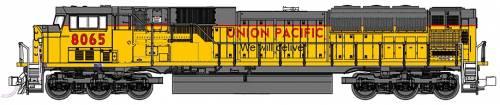 SD90-43 MAC Union Pacific