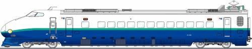Shinkansen 222-1509