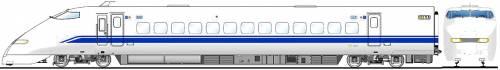 Shinkansen 323-21