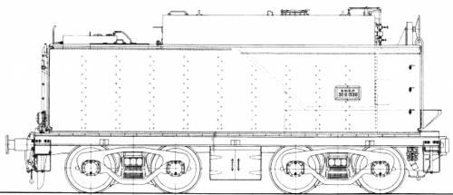SNCS Fuel Tender 30 R1 1330