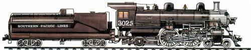SP A-6 Class 4-4-2 (1927)