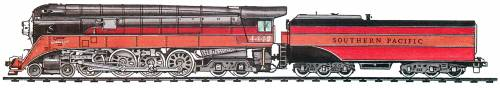 SP GS-2 Class 4-8-4 (1937)