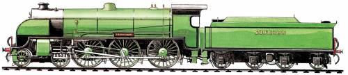 SR King Arthur Class 4-6-0 (1925)