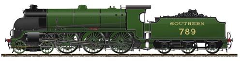 SR King Arthur Class No 789 Sir Guy