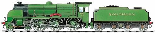 SR Lord Nelson Class 4-6-0 (1926)