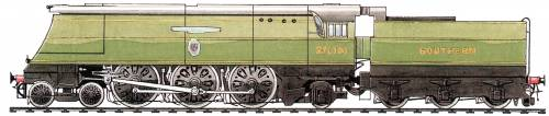 SR West Country Class 4-6-2 (1946)