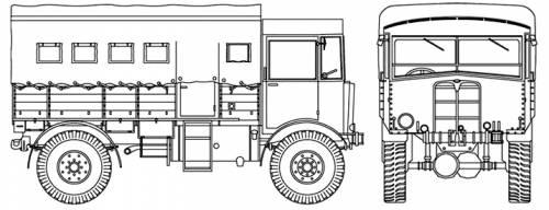 AEC Matador 0853 Truck 4x4