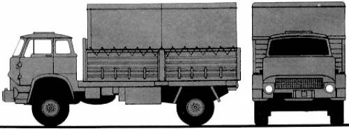 Bedford MK 4 tonne Truck