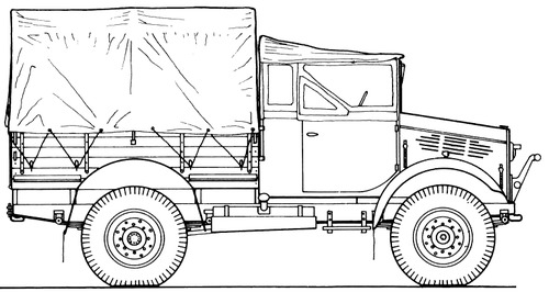 Bedford MWD 4x2 15cwt GS