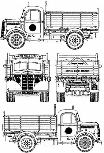 Bedford OSBT 5-ton Tipper