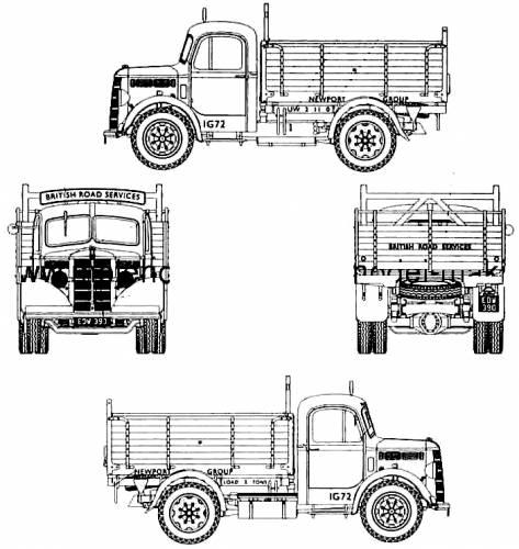 Bedford OSBT 5-ton Tipper swb
