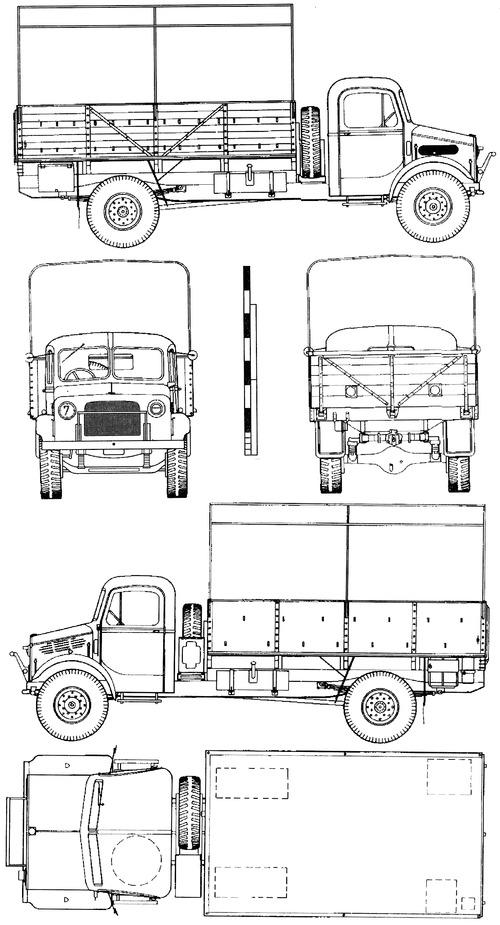 Bedford OYD 30cwt 3ton 4x2 GS