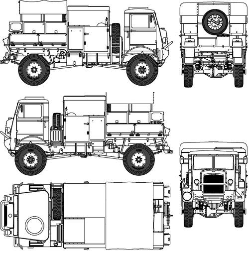 Bedford QLB Bofors AA FAT