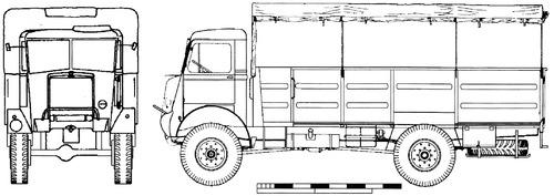 Bedford QLT 30cwt 3ton 4x4