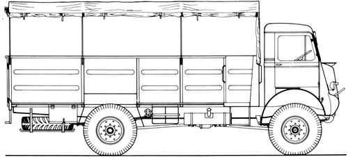 Bedford QLT 3ton 4x4