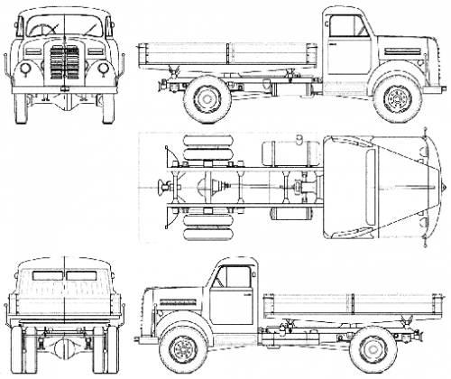 Borgward B555-A Kipper (1959)