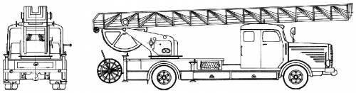 Bussing 8000 Fire Truck (1958)
