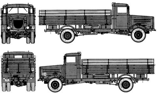 Bussing Nag L4500A 4x4
